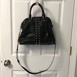 Michael Kors Astor large studded leather satchel